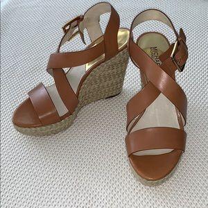 Brand New! Michael Kors Wedge Sandals